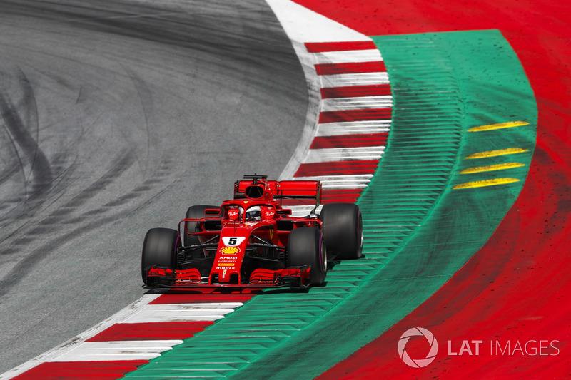 22º Sebastian Vettel - 14 carreras - De Estados Unidos 2017 hasta ahora - Ferrari