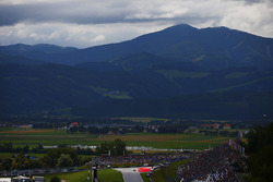 A scenic view of the Red Bull Ring