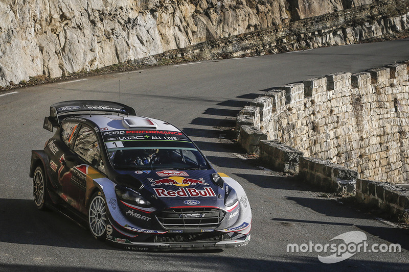 Sebastien Ogier y Julien Ingrassia, Ford Fiesta WRC, M-Sport Ford