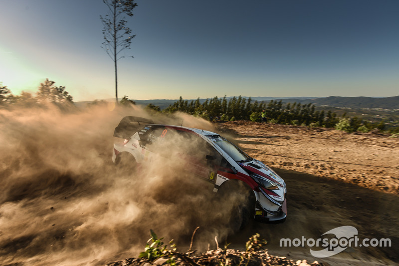 Эсапекка Лаппи и Янне Ферм, Toyota Yaris WRC, Toyota Gazoo Racing