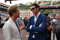 Nico Rosberg, Mercedes-Benz Ambassador and Tom Brady, NFL Player