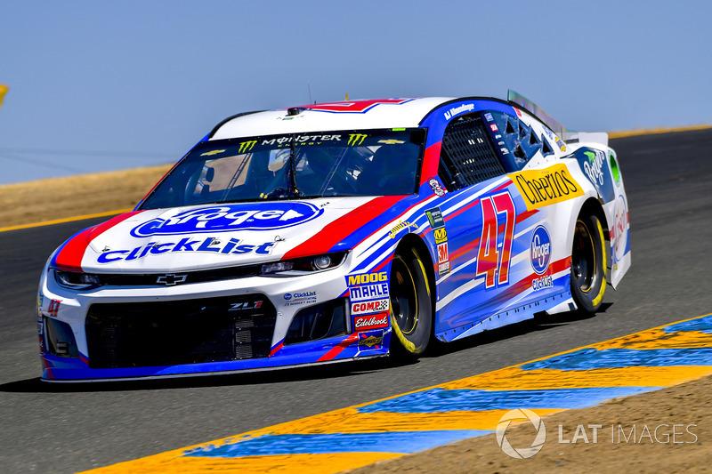 5. A.J. Allmendinger, JTG Daugherty Racing, Chevrolet Camaro Kroger ClickList