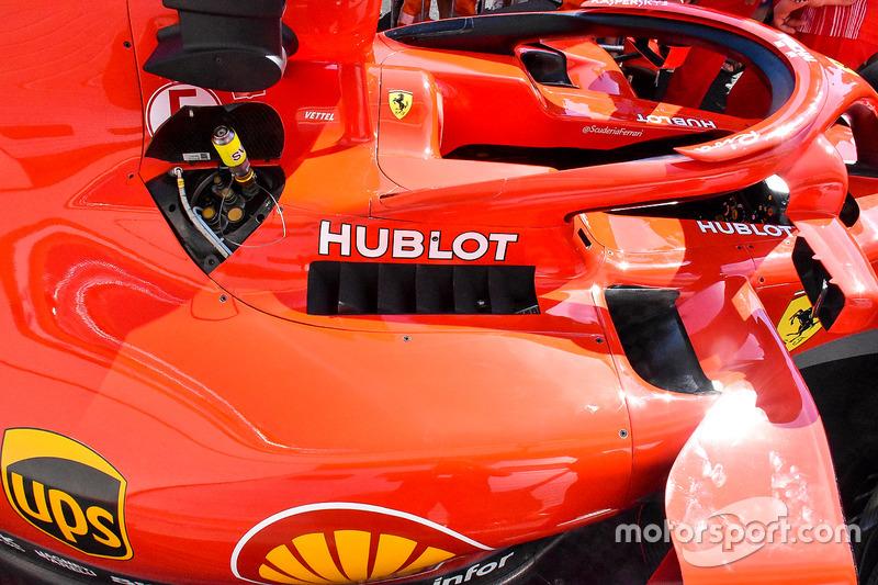 Ferrari SF71H detail
