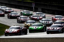 Start Race 2 Ferrari European Challenge