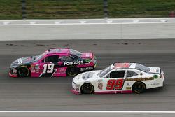 Matt Tifft, Joe Gibbs Racing Toyota, David Starr, BJ McLeod Motorsports Chevrolet