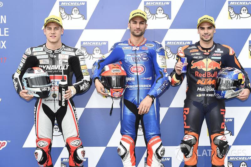Marcel Schrötter, Dynavolt Intact GP, Mattia Pasini, Italtrans Racing Team, Oliveria