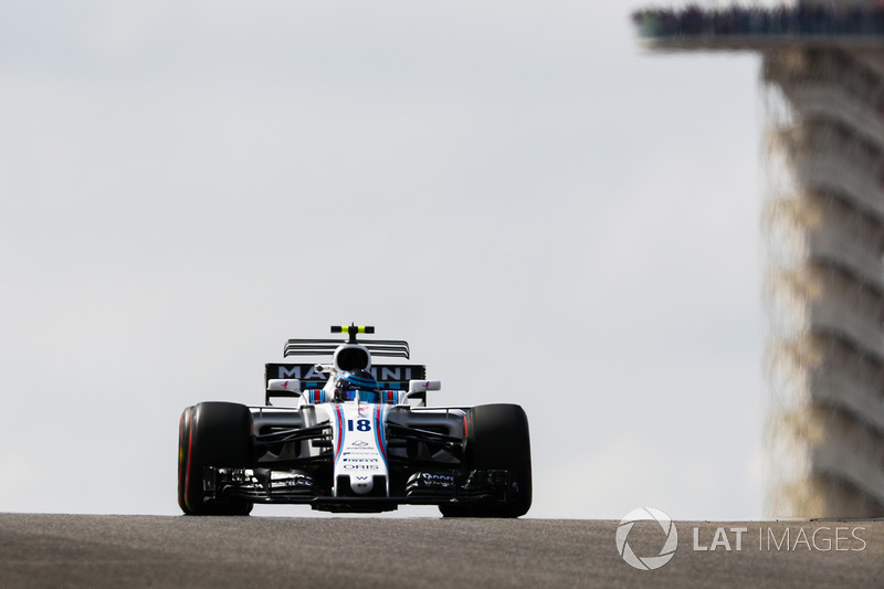 16. Lance Stroll, Williams FW40 *