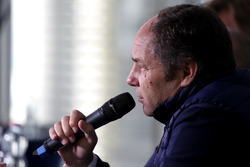 Press Conference: Gerhard Berger, ITR Chairman