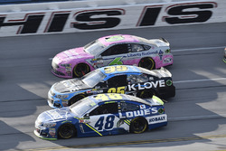 Jimmie Johnson, Hendrick Motorsports Chevrolet, Michael McDowell, Leavine Family Racing Chevrolet, Trevor Bayne, Roush Fenway Racing Ford