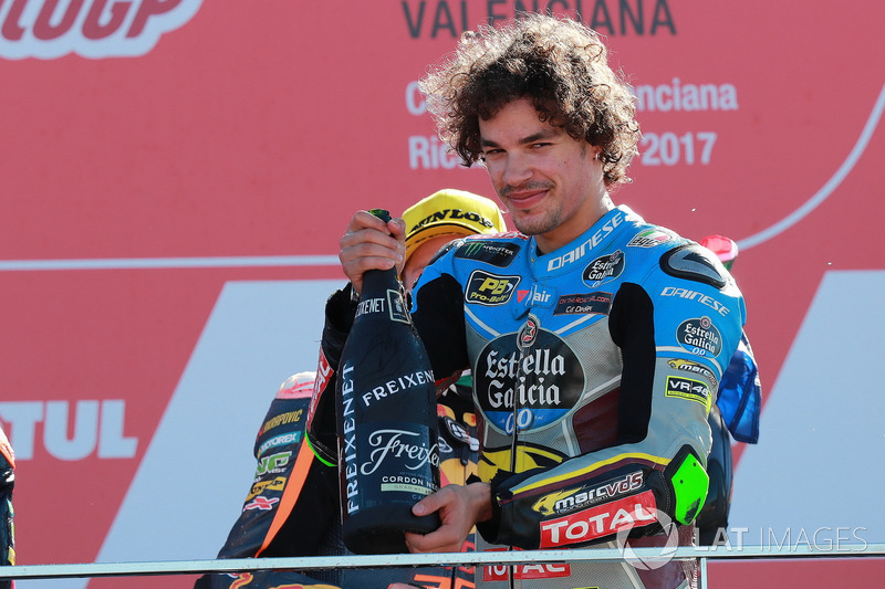 Podio: Franco Morbidelli, Marc VDS