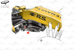 Renault RS17: Windabweiser