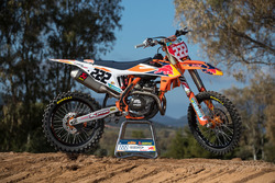 La moto di Tony Cairoli, KTM Factory Racing