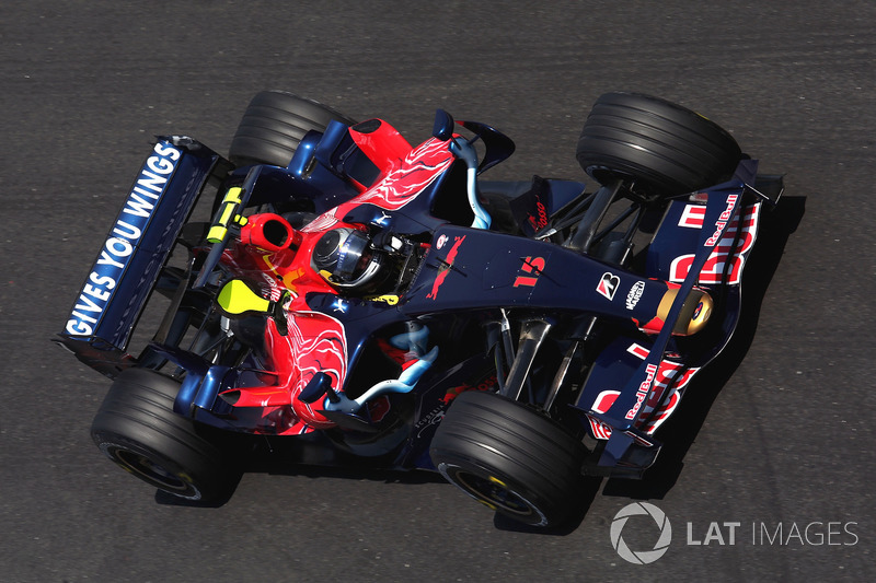 El Toro Rosso STR03 de 2008: 'Julie'