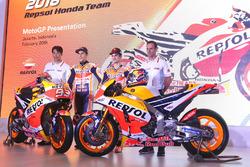 Marc Márquez, Repsol Honda Team, Dani Pedrosa, Repsol Honda Team, Alberto Puig, Repsol Honda Team Manager