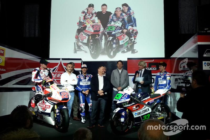 Presentación Gresini Racing