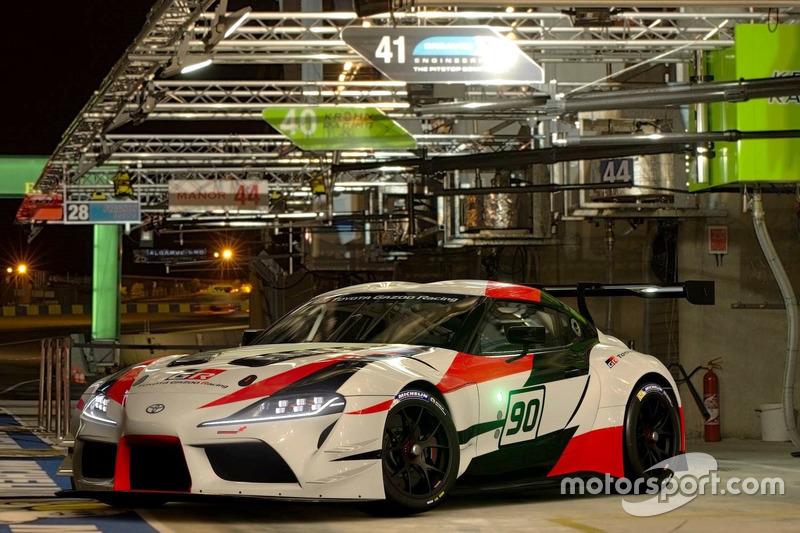 Концепт Toyota GR Supra Racing в Gran Turismo Sport