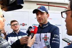Robert Kubica, Williams parle aux médias