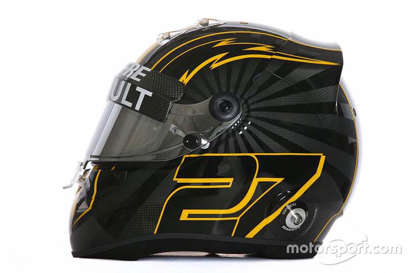 Nuevo diseño del casco de Nico Hulkenberg