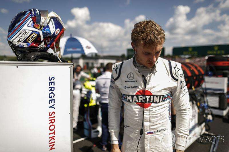 Сергей Сироткин, Williams Racing