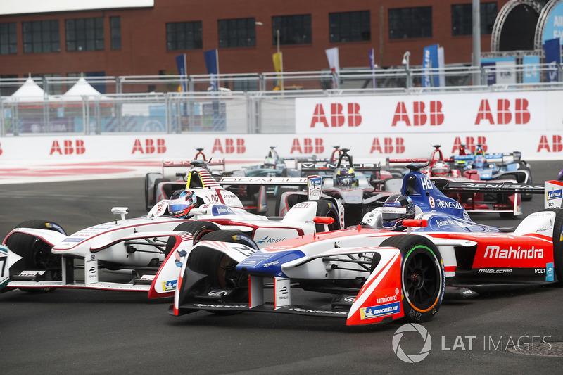 Nick Heidfeld, Mahindra Racing, Jose Maria Lopez, Dragon Racing