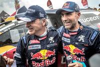 Stéphane Peterhansel, Carlos Sainz, Peugeot Sport