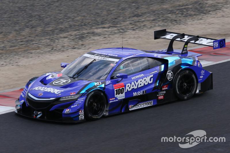 #100 Team Kunimitsu Honda NSX Concept GT: Naoki Yamamoto, Jenson Button