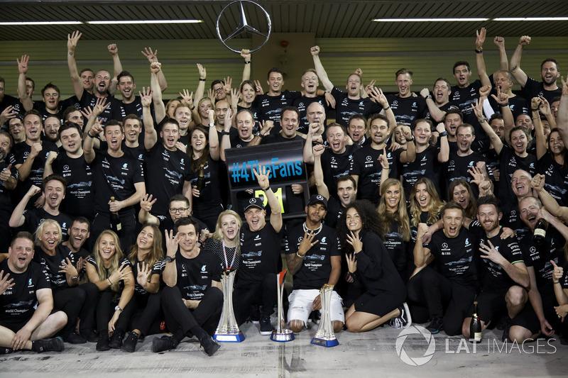 Mercedes, el equipo que más confiable seguido de Force India