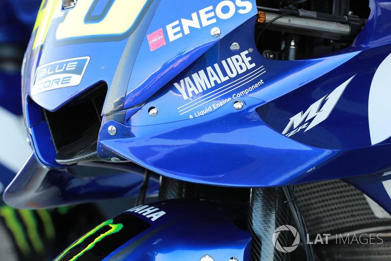 Detail fairing Yamaha Factory Racing