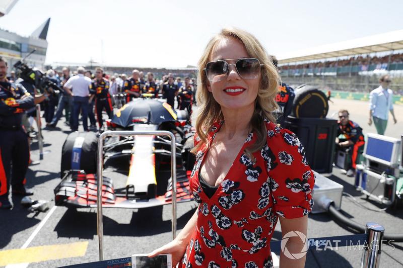 Geri Horner, in griglia con il team Red Bull
