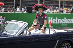 Kevin Magnussen, Haas F1 on the drivers parade