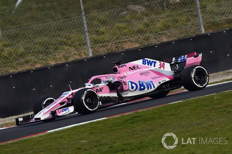 Никита Мазепин, Sahara Force India F1 VJM11