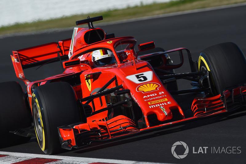 No final, Sebastian Vettel foi o mais veloz do dia, com o tempo de 1min20s396, tendo feito 171 voltas.