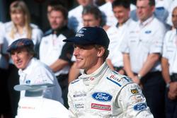 Ganador de la carrera Johnny Herbert, Stewart Grand Prix