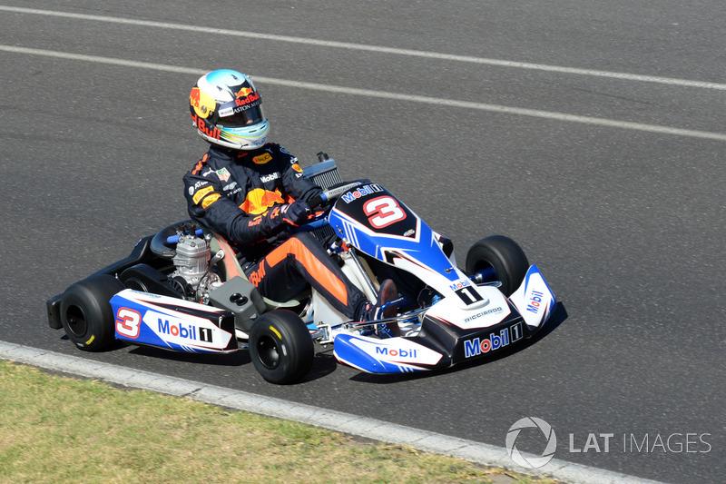 Daniel Ricciardo, balapan go-kart di Go Kart Club Victoria