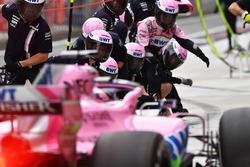 Пит-стоп: Серхио Перес, Sahara Force India F1 VJM11