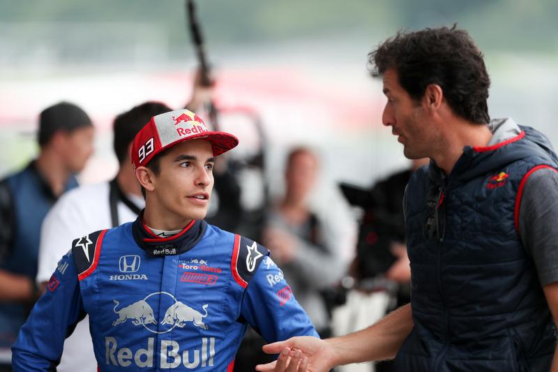 Marc Marquez, Toro Rosso F1, Mark Webber