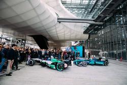 Lucas di Grassi, Audi Sport ABT Schaeffler andLuca Filippi, NIO Formula E Team