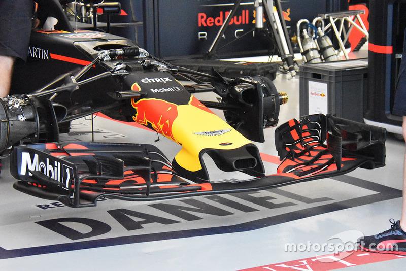 Detalle técnico de Red Bull RB14