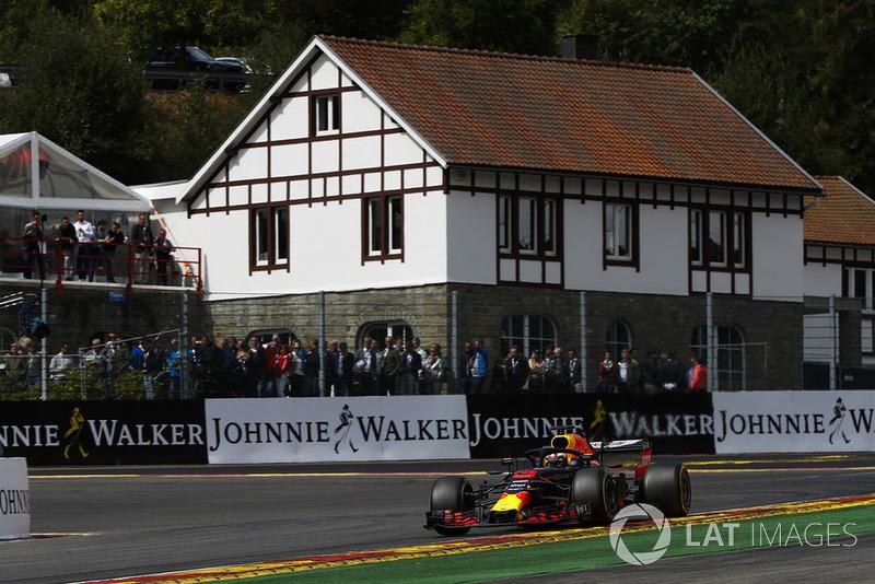 8. Daniel Ricciardo, Red Bull Racing RB14