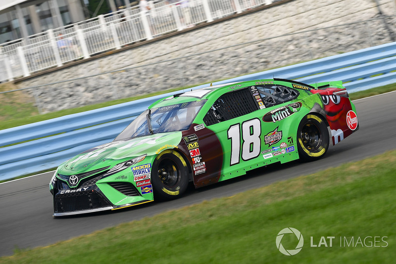 Kyle Busch, Joe Gibbs Racing, Toyota Camry M&M's Flavor Vote Winner