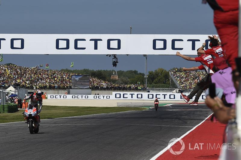 22. Гран Прі Сан-Маріно 2018: Андреа Довіціозо, Ducati Team