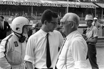 Chris Amon, Ferrari, Mauro Forghieri, ingénieur en chef de Ferrari, Enzo Ferrari