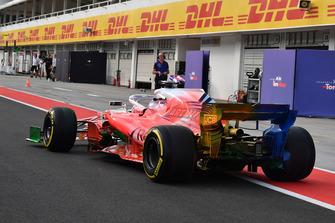 Robert Kubica, Williams FW41 with aero paint