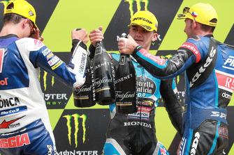 Fabio Di Giannantonio, Del Conca Gresini Racing Moto3, Aron Canet, Estrella Galicia 0,0, Jakub Kornfeil, Prustel GP