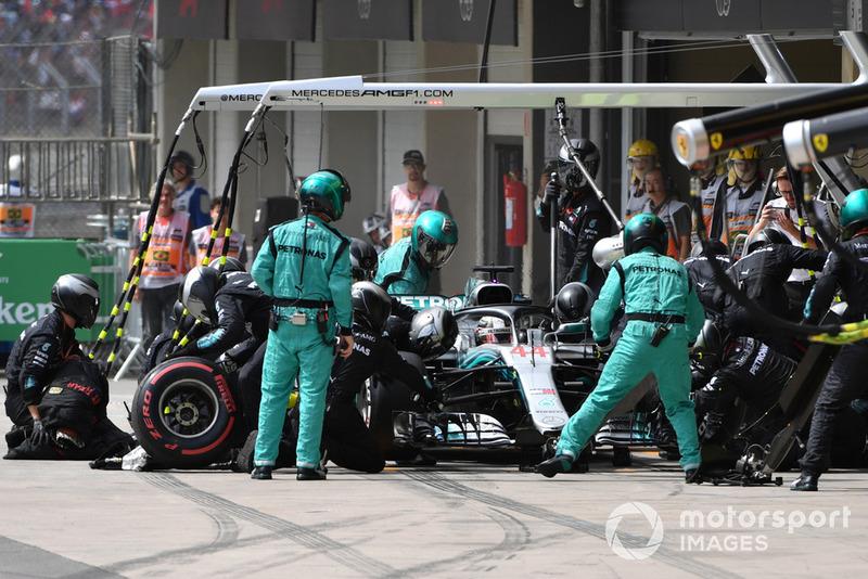 8º Mercedes con Lewis Hamilton: 2,61 segundos