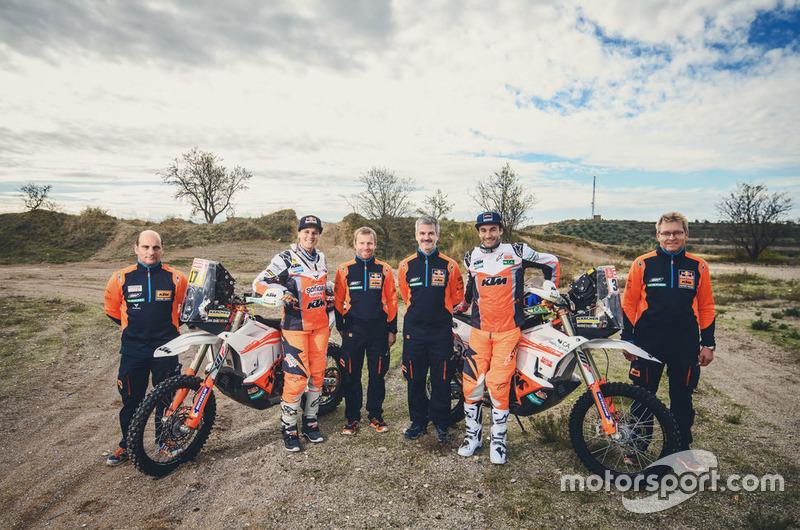 #17 KTM Racing Team: Laia Sanz, #34 KTM Racing Team: Mario Patrao