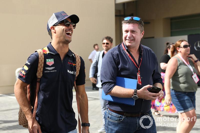 Даніель Ріккардо, Red Bull Racing, Девід Крофт, Sky TV