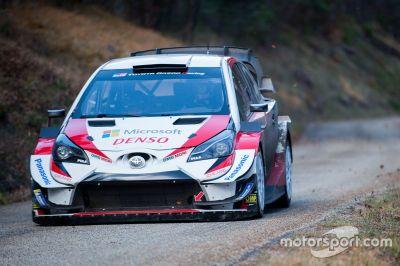 Декабрьские тесты Toyota Gazoo Racing WRT