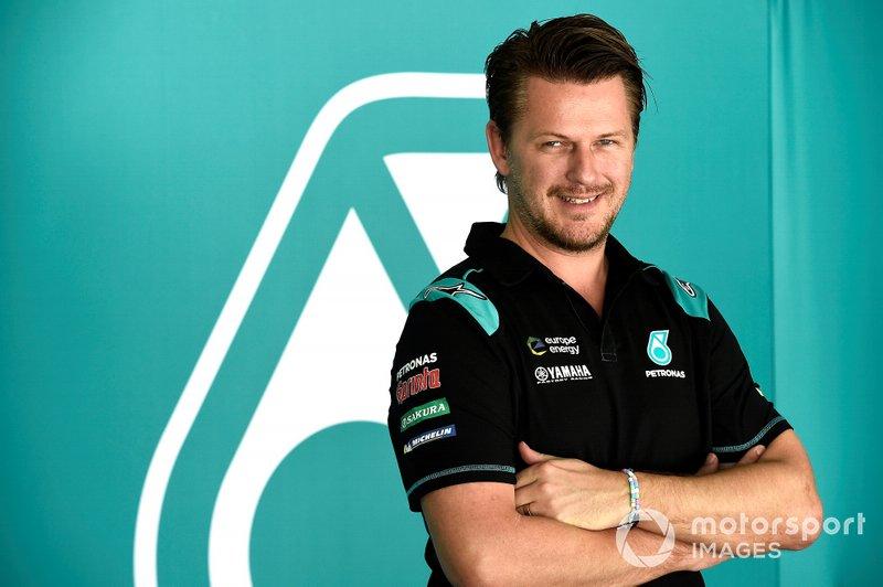 Johan Stigefelt, director del Petronas Yamaha SRT