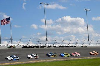 Single-File-Racing in Daytona